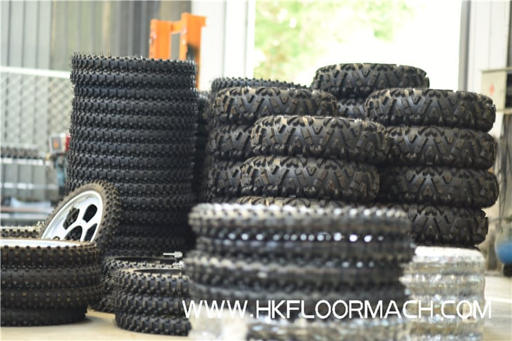 Free with vacuum wide tires, it can be used under the condition of finer mesh.