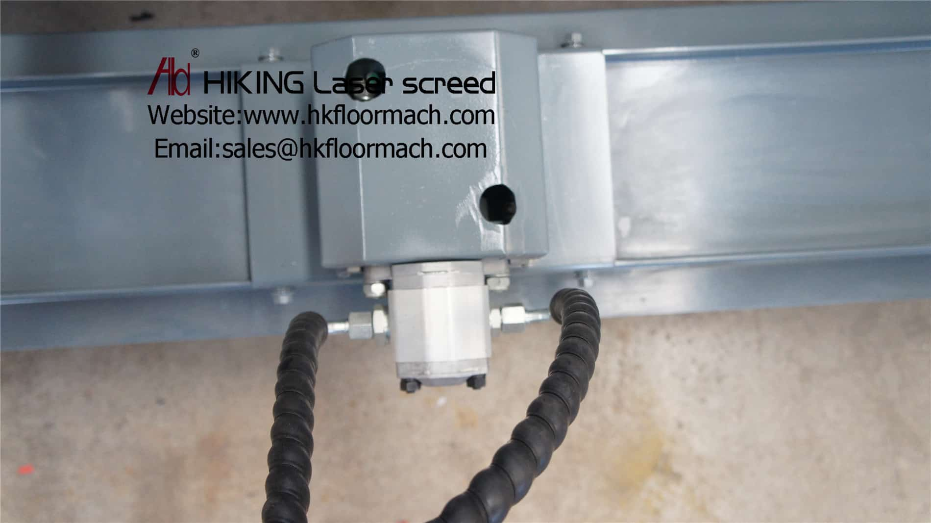 vibration motors of the concrete laser screed machine