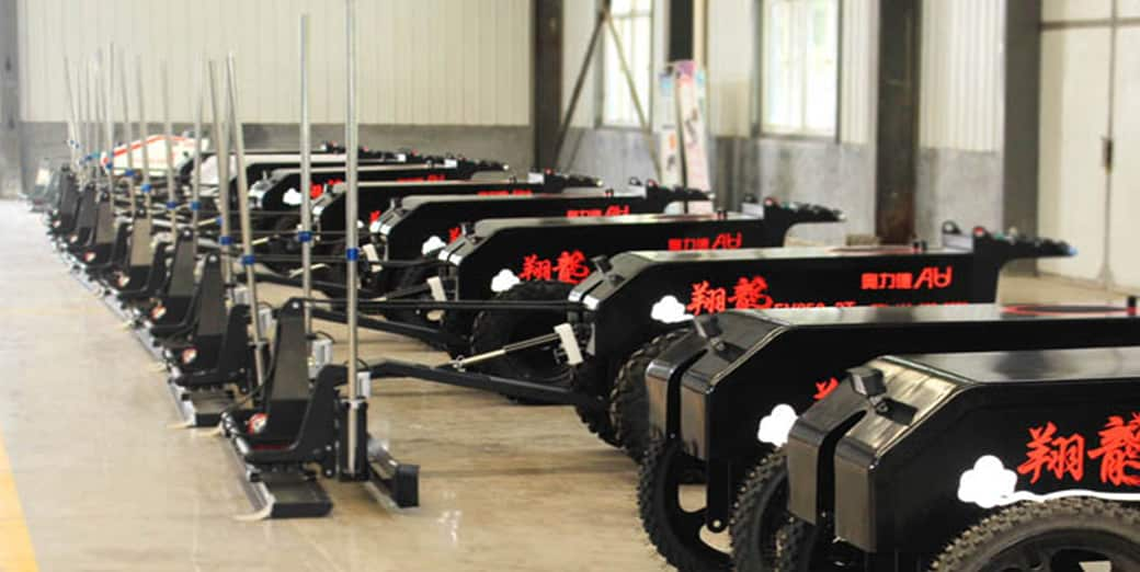 laser screed manufacture