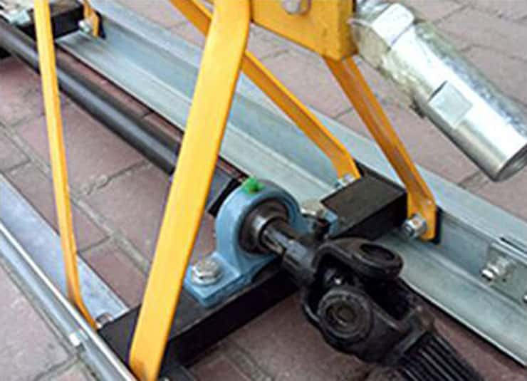 2. Fast joint connection is adopted, which is convenient for disassembly, high efficient and easy to transport.