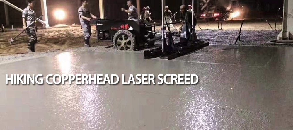 Copperhead laser screed for sale