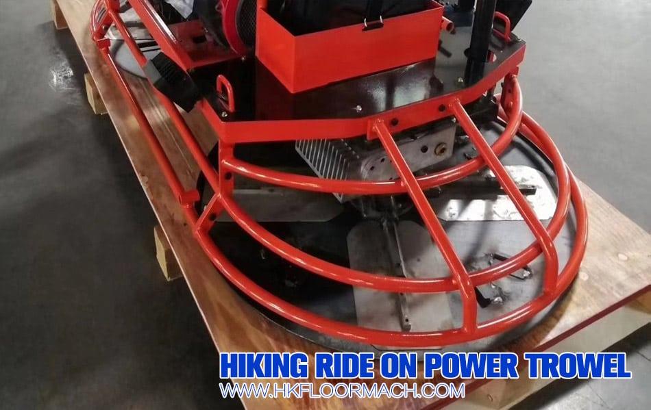 f100 ride on power trowel