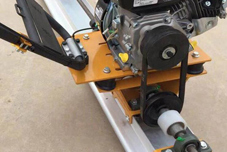2. The belt conveyor is used to make the machine enjoy stable performance and easy to maintain.