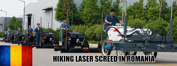 HIKING laser screed for sale in Romania