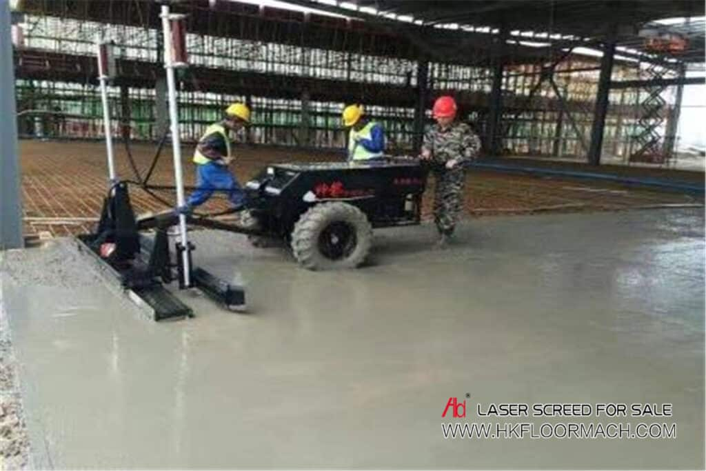 used laser screed
