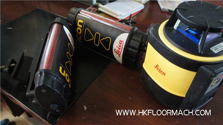 laser system of s840-2 laser screed