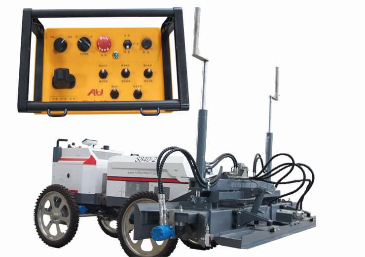S840-2 Remote control concrete laser screed