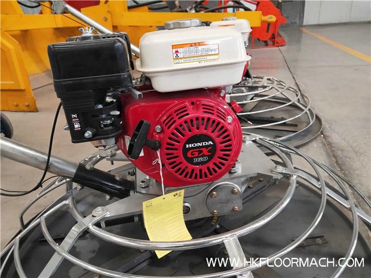 w100 power trowel machine