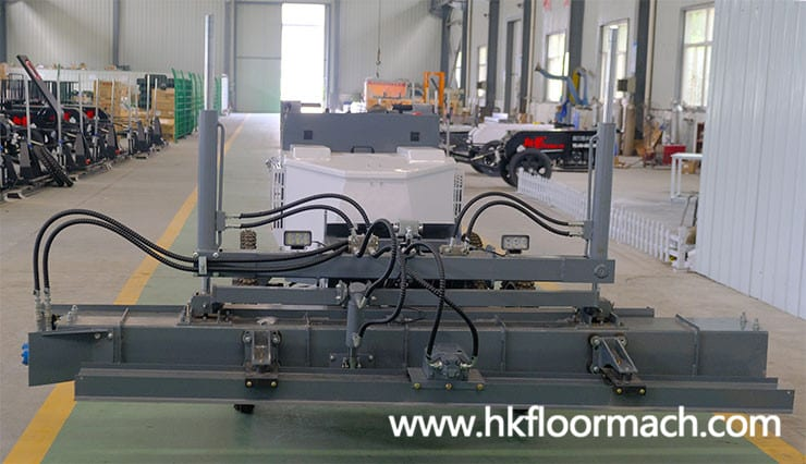 working-head-of-the-s940p-laser-screed-machine